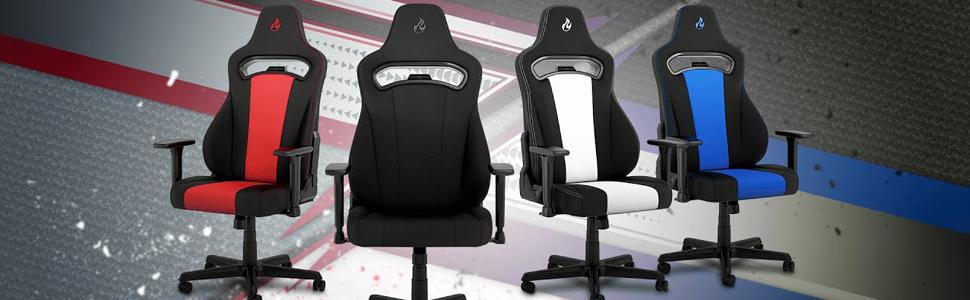 Chaises et fauteuils gaming Serie Nitro Concepts e250