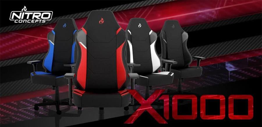Chaises gaming Nitro Concept X1000 Series